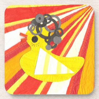 Prácticos de costa Ducky del corcho del disco Posavaso