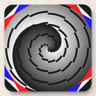 Prácticos de costa espirales dobles de Yin Yang Posavaso