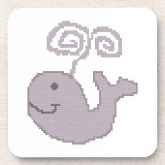 Prácticos de costa felices de la ballena posavaso