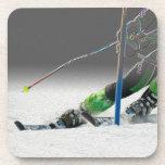 Prácticos de costa gigantes de la raza de esquí de posavasos de bebidas