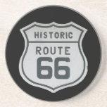 Prácticos de costa históricos de la ruta 66 posavaso para bebida