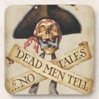 Prácticos de costa muertos del pirata posavasos