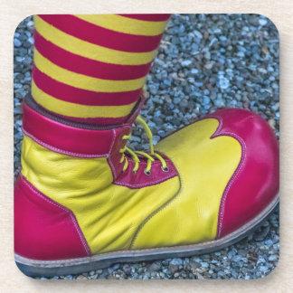 Prácticos de costa plásticos duros del zapato rojo posavasos de bebida