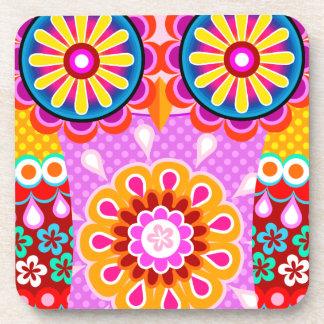 Prácticos de costa populares abstractos coloridos  posavaso