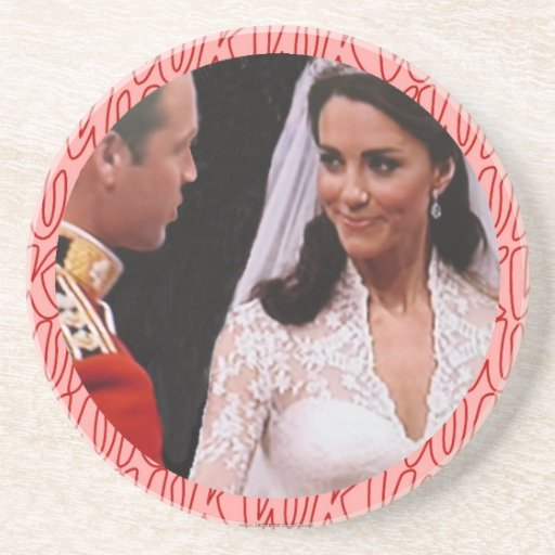 Prácticos de costa reales del boda de Guillermo y  Posavasos Diseño