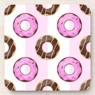 Prácticos de costa rosados del plástico de las posavaso