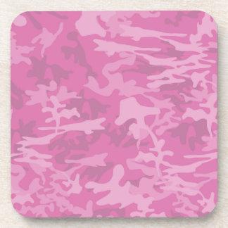 Prácticos de costa rosados femeninos de Camo Posavasos De Bebida