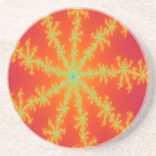 Prácticos de costa venosos del fractal de la tempe posavasos manualidades