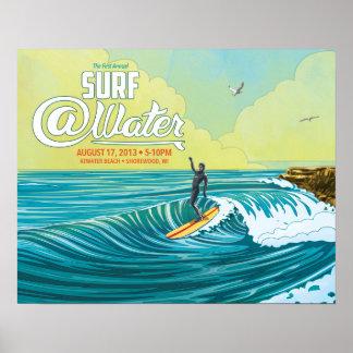 """Practique surf el cartel 20"""" de la persona que pra posters"""