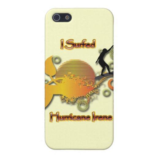 Practiqué surf el huracán Irene iPhone 5 Funda