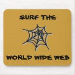 Practique surf el Web Mousepad Tapete De Raton