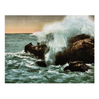 Practique surf la visión, Ventimiglia, obra clásic Postales