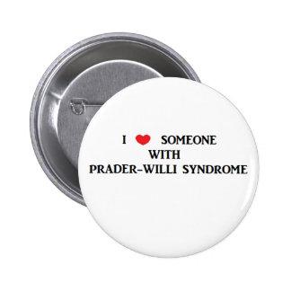 Prader-Willi Syndrome Button