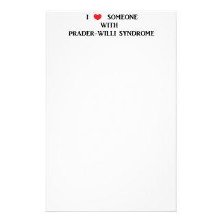 Prader-Willi Syndrome Stationery