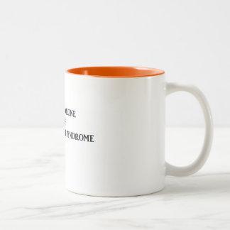 Prader-Willi Syndrome Two-Tone Coffee Mug