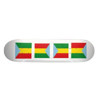 Pradera, Columbia Skateboard Decks