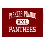 Pradera de Parkers - panteras - pradera de Parkers Felicitación