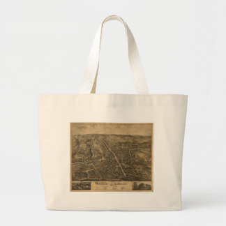 Pradera, Massachusetts en 1877 Bolsa De Tela Grande