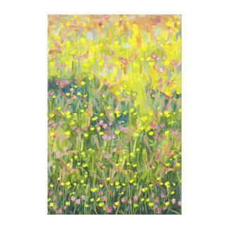 Prado 2012 del verano impresión en lienzo