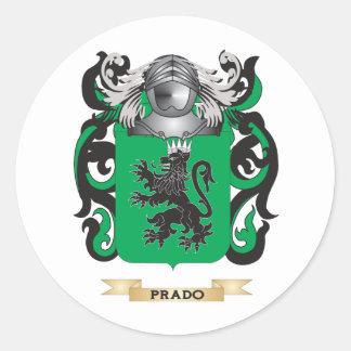 Prado Coat of Arms (Family Crest) Sticker