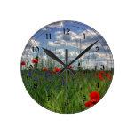 Prado con los Wildflowers Relojes