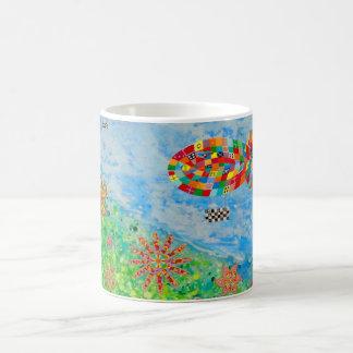 Prado con zepelín [45] taza de café
