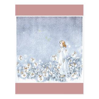 Prado de la luciérnaga tarjetas postales