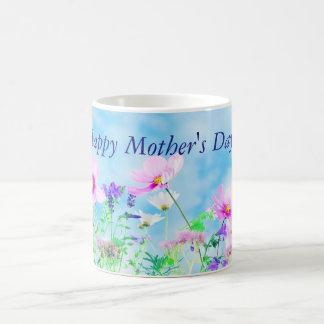 Prado de la taza feliz del día de madre de los