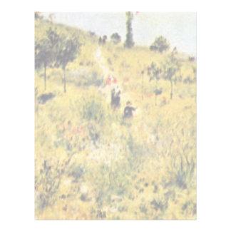 Prado de Pierre-Auguste Renoir (la mejor calidad) Membrete