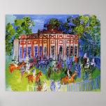 Prado del castillo francés posters