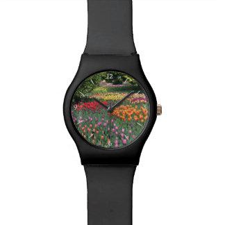 Prado del tulipán reloj