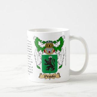Prado, el origen, el significado y el escudo taza