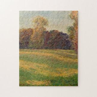 Prado en el Sun en la bella arte de Giverny Monet Rompecabeza Con Fotos