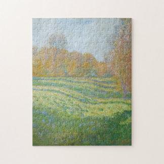 Prado en la bella arte de Giverny Monet Rompecabeza