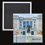 Prado, Madrid, Spain Magnet