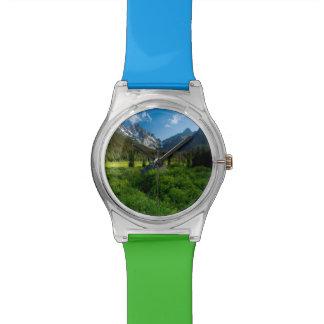 Prado y Mt. Estuardo Reloj