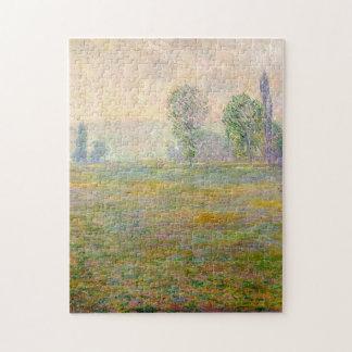 Prados en la bella arte de Giverny Monet Puzzle