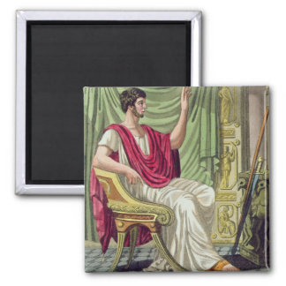 Praetor, No. 38 from 'Antique Rome', engraved by L Magnet