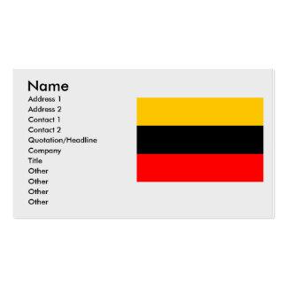 Praga 14, checa tarjetas de visita
