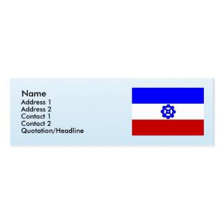 Praga 16, checa tarjetas de visita mini