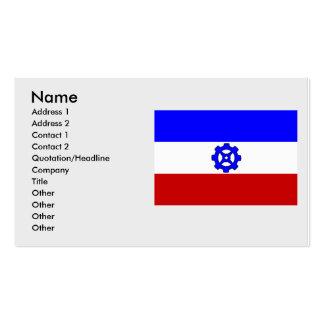 Praga 16, checa tarjetas de visita