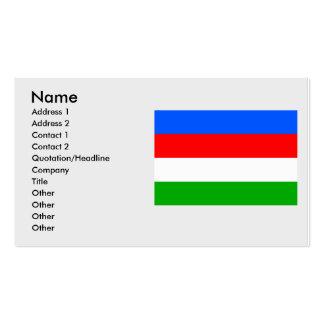 Praga 22, checa tarjetas de visita