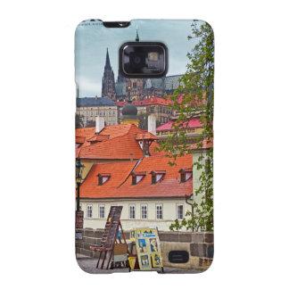 Praga - catedral del St Vitus Galaxy S2 Funda