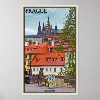 Praga - catedral del St Vitus Posters