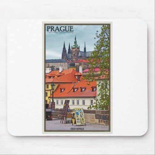 Praga - catedral del St Vitus Tapetes De Raton