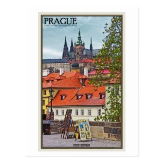 Praga - catedral del St Vitus Postales