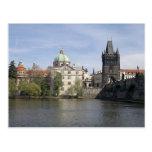 Praga en la primavera postales