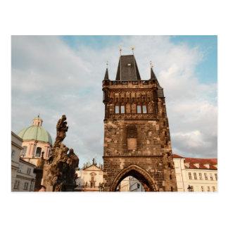 Praga, foto checa tarjeta postal