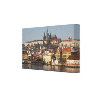 ¡Praga! Impresión de la lona