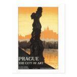 Praga la ciudad del arte tarjetas postales